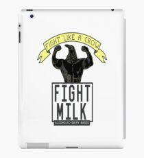 fight milky iPad Case/Skin