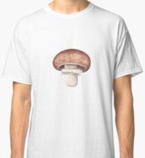 Agaricus bisporus (Portobello Mushroom) Classic T-Shirt