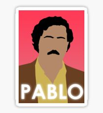 Pablo Escobar 'Powder Pablo' Sticker