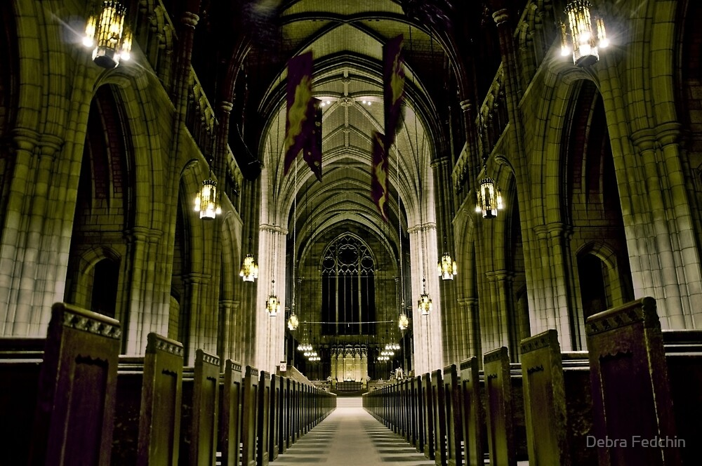 Princeton University Chapel by Debra Fedchin