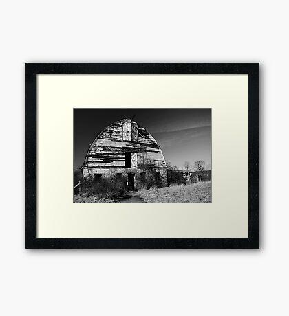 Nursery Barn that has seen better days  Framed Print