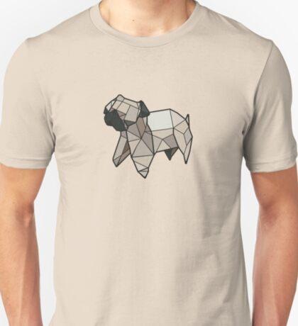 Origami Pug T-Shirt