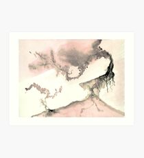 0011 - Brush and Ink - Left Art Print