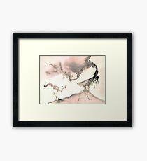 0011 - Brush and Ink - Left Framed Print