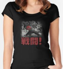 Hiro's Battle Bot Women's Fitted Scoop T-Shirt