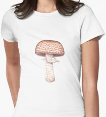 Agaricus augustus (The Prince) Womens Fitted T-Shirt