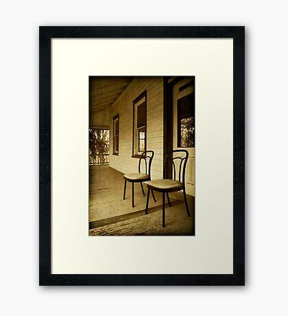 Salamovka # 2 Framed Print