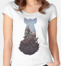 FALLOUT 4 Women's Fitted Scoop T-Shirt