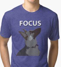 German Shepherd Focus Tri-blend T-Shirt