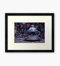 Luxurious tea cup Framed Print