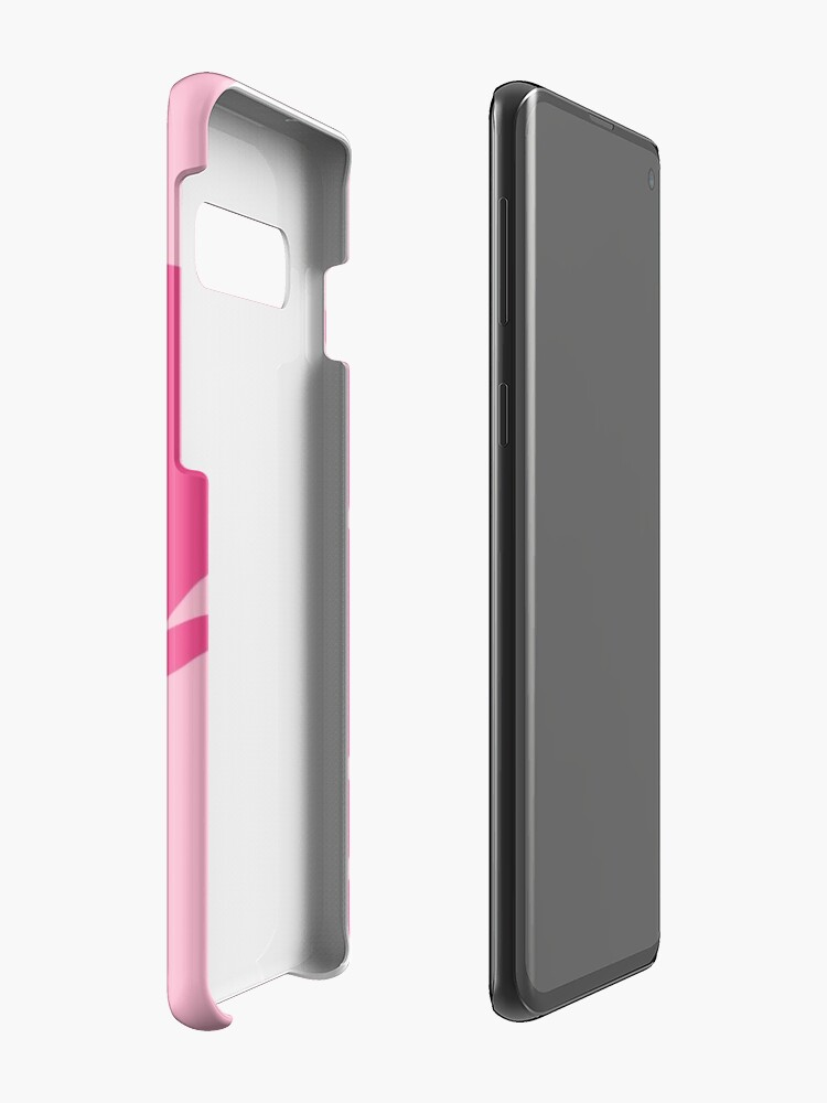 Alternate view of Pinkie Pie Minimalist Mustache  Case & Skin for Samsung Galaxy