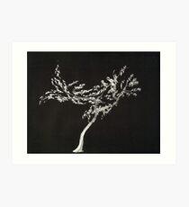 0016 - Brush and Ink - Tree Art Print
