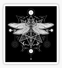 Occult dragonfly Sticker