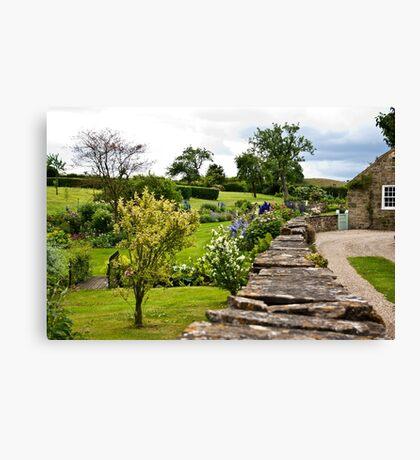 A Country Garden Canvas Print