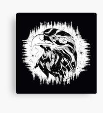 Mystical eagle Canvas Print