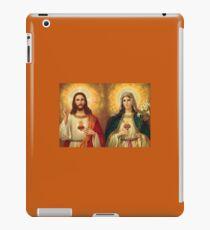 Virgin Mary and Jesus Immaculate Heart Religion Catholic iPad Case/Skin