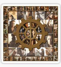 Lexa Collage Sticker