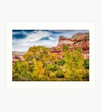 Autumn in the Escalante Valley Art Print