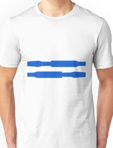 Robot stripes Unisex T-Shirt