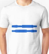 Robot stripes Unisex T-Shirt