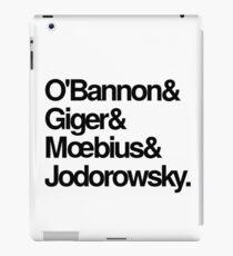Jodorowsky's Dune - O'Bannon, Giger, Moebius and Jodorowski iPad Case/Skin