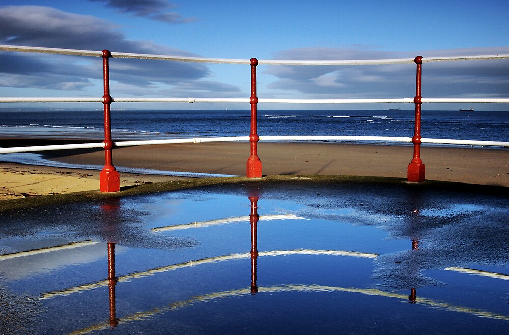 Seaside Symmetry by Glen Birkbeck