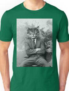 Gangster Cat Pepe Psyche Unisex T-Shirt