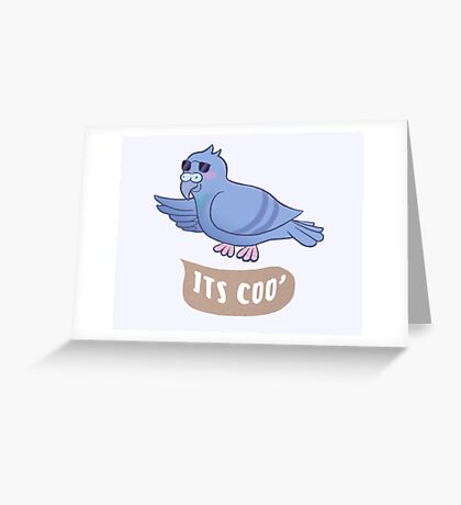 It's Coo' Greeting Card