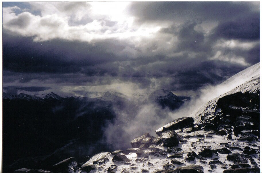 Whistler's Snow by clairet