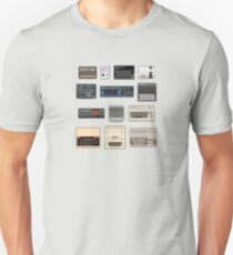 Pixel Retro Gaming Machines Unisex T-Shirt
