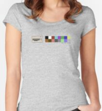 Pixel Commodore 64 Women's Fitted Scoop T-Shirt
