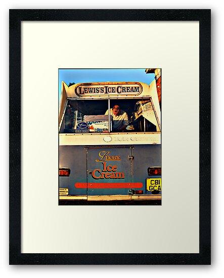 Ice Cream Van by Louise Green