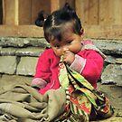 Nepal Girl by Rebecca Smith