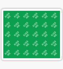 Kiss Me st. patrick Sticker
