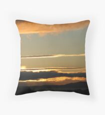 Scottish Skies Throw Pillow