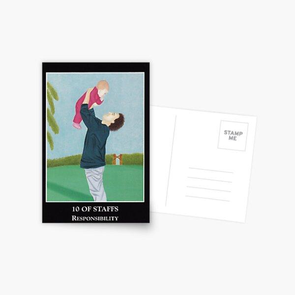 10 of Staffs - Responsibility Postcard