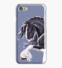 Gypsy cob horse  iPhone Case/Skin