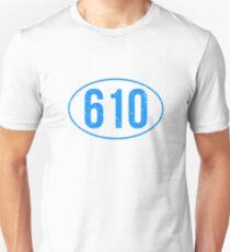 Berks County 610 Reading PA Pride Shirt Pennsylvania Tee Unisex T-Shirt