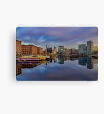 Salthouse Dock Long Exposure Canvas Print