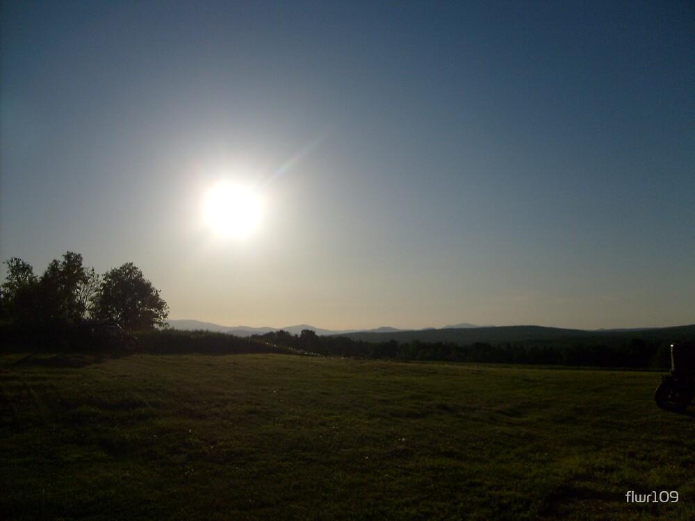 Bright Burning Sun by flwr109