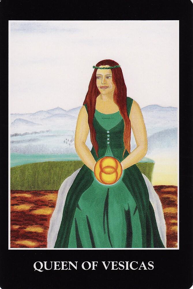 Queen of Vesicas by Lisa Tenzin-Dolma