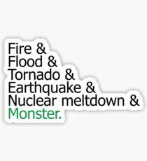 Sim City Disasters Sticker