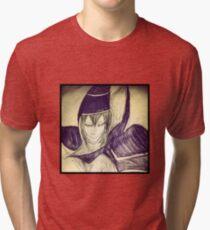 dark magician yu gi oh Tri-blend T-Shirt