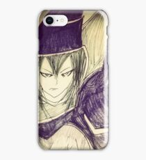dark magician yu gi oh iPhone Case/Skin