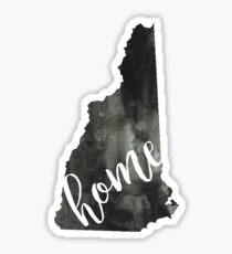 new hampshire is home Sticker