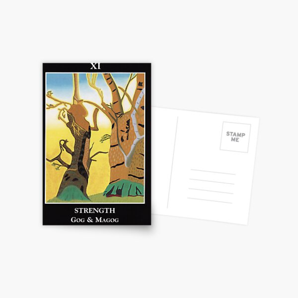 Strength - Gog and Magog Postcard