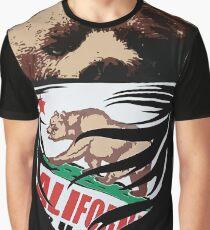 California Bear Graphic T-Shirt