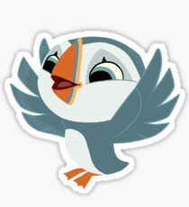 Oona - Happy Wing Flap Sticker
