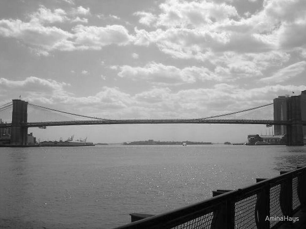 Brooklyn Bridge by AminaHays