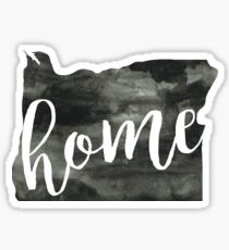 oregon is home Sticker